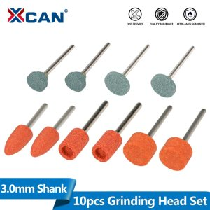 Abrasive Mounted Stone 10pcs 3mm Shank Grinding Head Stone Wheel For Dremel Rotary Tools Accessories