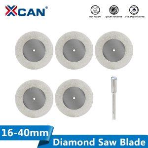 16-40mm 5pcs mini cutting disc for Rotory accessories diamond grinding wheel circular saw blade abrasive diamond disc