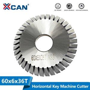 XCAN High Speed Steel Diamete 60mm Circular Saw Blade Key Cutting Machine Saw Blade 36 Teeth Key Machine