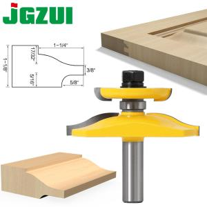 1pc 12mm 1/2 Inch Raised Panel Ogee Router Bit with Backcutter Tenon Cutter for Wood Woodworking Tools Power Tool