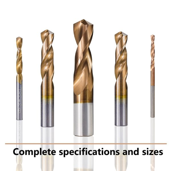 1pc Tungsten Carbide Drill Bit 1.0-12mm TiCN Coated Metalworking Monolithic Drill For CNC Lathe Machine Twist Drill Bit