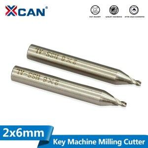 1pcs 2.0mm HSS Milling Cutter Fit Vertical Key Cutting Machine Key Cutting Twist Drill Locksmith Tools Parts Key Cutter