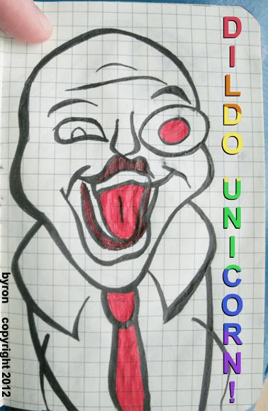 000071 - DILDO UNICORN!