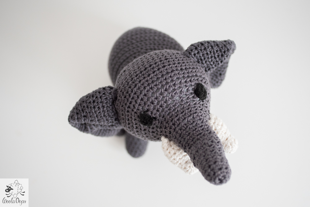 crocheter un éléphant