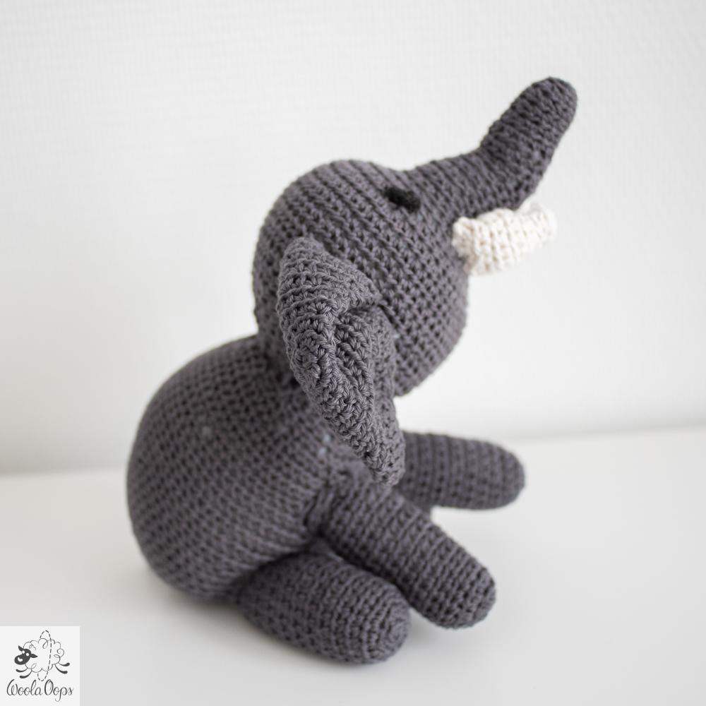 éléphant au crochet