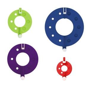 Набір інструментів для виготовлення помпонів KnitPro (4 шт)