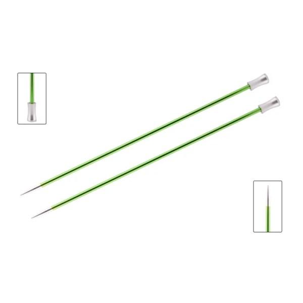 Прямі спиці KnitPro Zing 25-30 см
