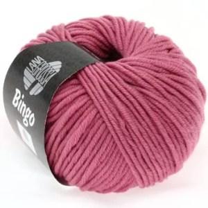 Lana Grossa Bingo 168 вінтажний рожевий
