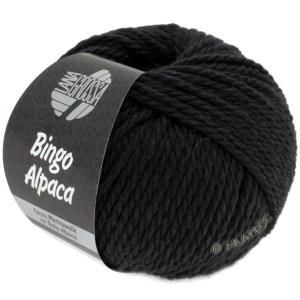 Lana Grossa Bingo Alpaca 14 чорний