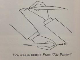 Steinberg 'The Passport' - Gombrich, 2002, p.200