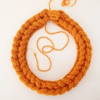Magic plait knitted hairband