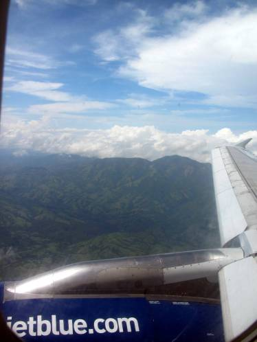 Our first glimpse of Costa Rica!