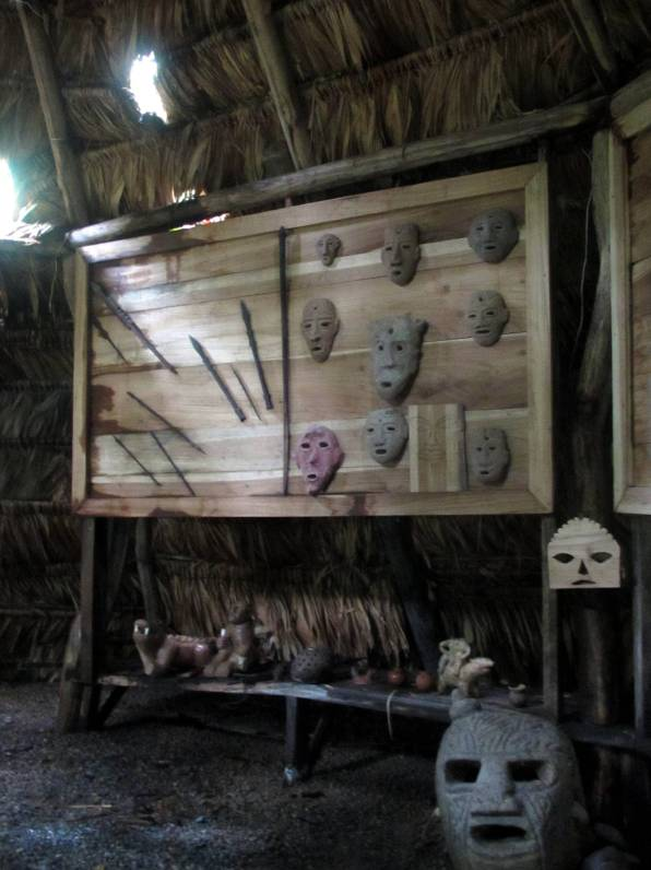 Artifacts of native tribes.