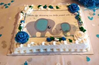Elephant cake!