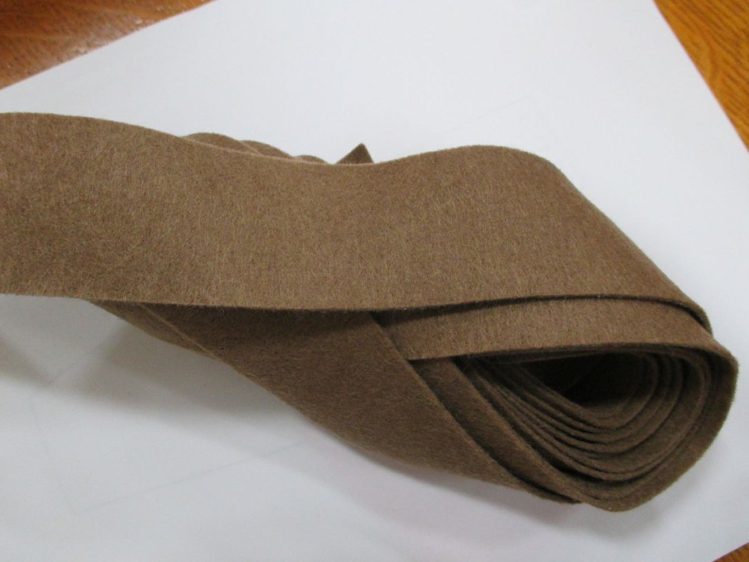 Olive Drab felt binding