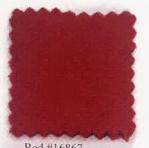 Pendleton melton wool in red.