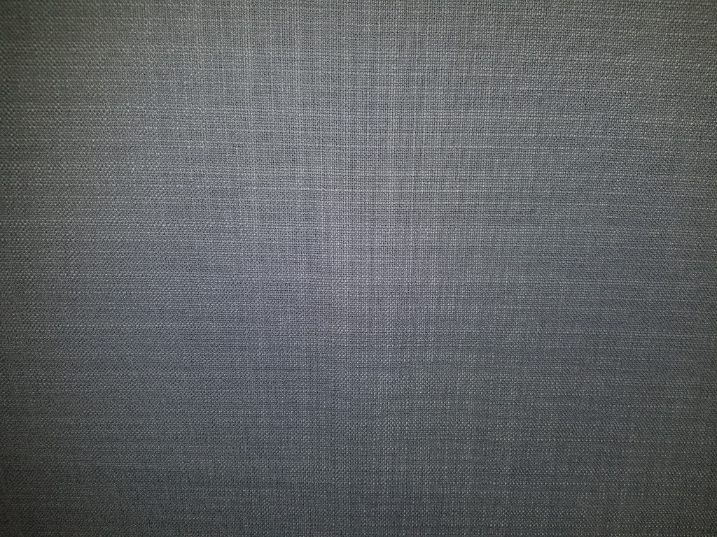 Linen/Wool fabric in a charcoal/blue weave