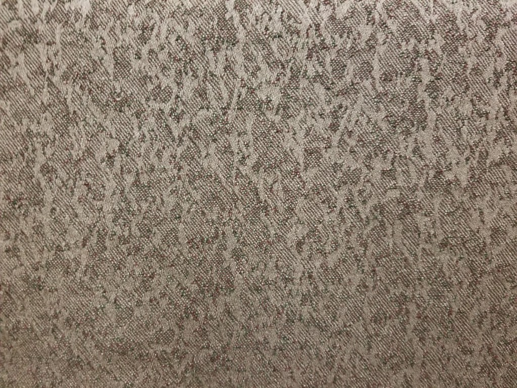 Upholstery fabric in a light mauve gold color