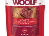 Snack Woolf Corazones Pato y Pollo