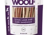 Snack Woolf Sandwich Largo Cordero y Bacalao