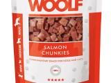 Snack Woolf Dados de Salmón