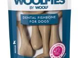 Hueso dental Fisbone mediano para perros