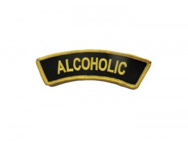 "Patch ""Alcoholic"""
