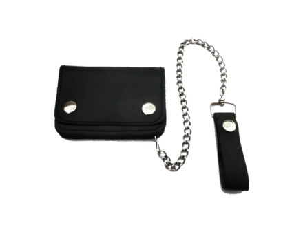 "Wallet with Chain ""Leather"""
