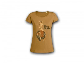 """The Intersphere T-Shirt """"Relations In The Unseen – brown"""" Girl"""