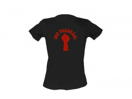 "Woolheads T-Shirt ""No Pasaran – Red"" Woman"