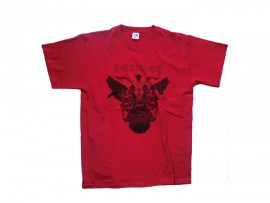 "Doomriders T-Shirt ""Baphomet red"" Man"