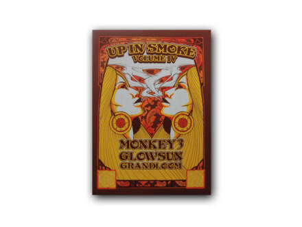 Up In Smoke Silkscreen Poster Vol. 4