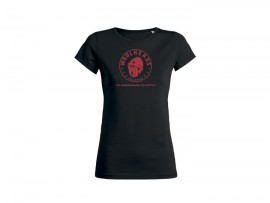 "Woolheads T-Shirt ""Vintage Red"" Girl"