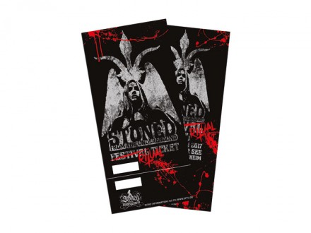 Stoned From The Underground Festivalticket 2017