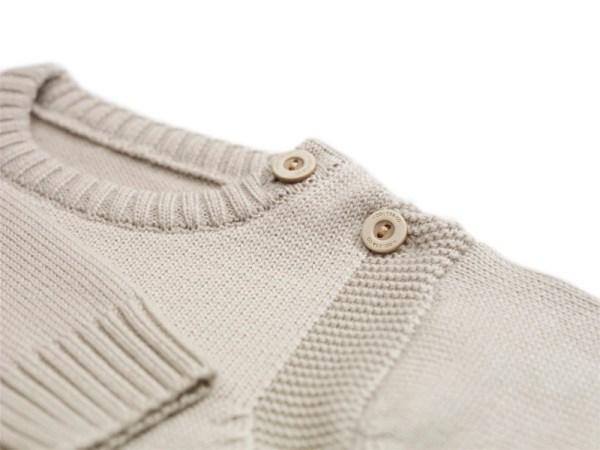 Sweterek szarobeżowy 003 | 002-W-SW-GBE | www.wooliesandco.pl | shop online