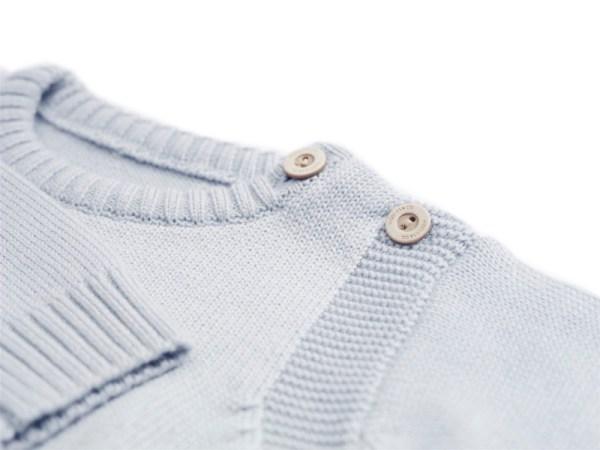 Sweterek jasnoniebieski 003 | 004-W-SW-LBL | www.wooliesandco.pl | shop online