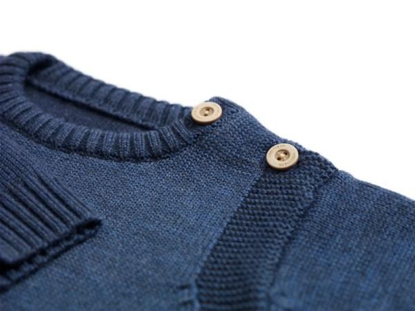 Sweterek granatowy 003 | 001-W-SW-NBL | www.wooliesandco.pl | shop online