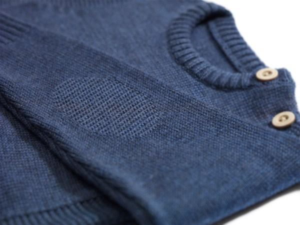 Sweterek granatowy 002 | 001-W-SW-NBL | www.wooliesandco.pl | shop online