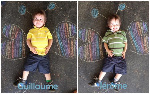 Faire de l'art avec vos enfants et de la craie / wooloo