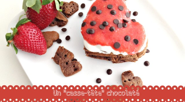 Pancake au chocolat Super Mini