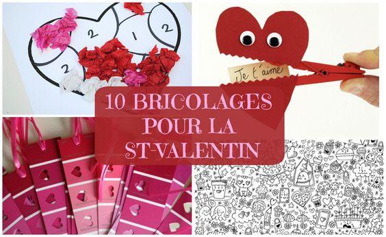 Top 10 des bricolages de St-Valentin!