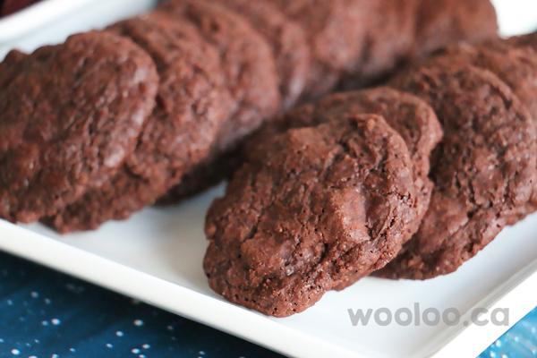 Biscuits double-chocolat sans allergène