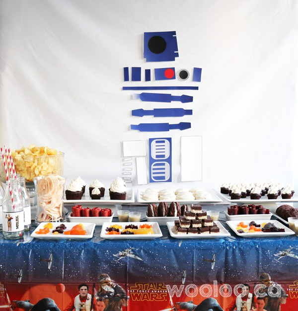 Table sucrée intolérances alimentaires - Star Wars
