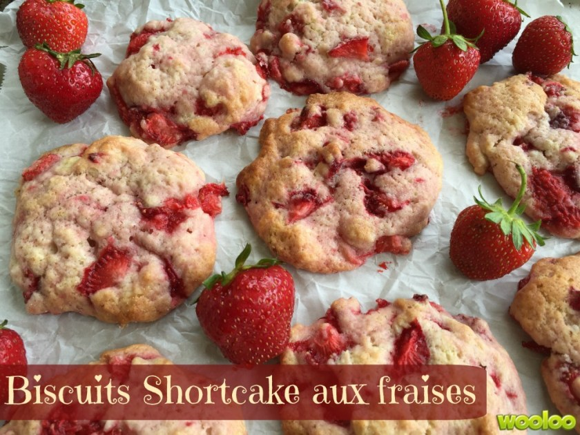biscuits shortcake aux fraises wooloo