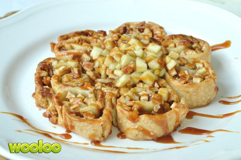Tarte roulée aux pommes et au caramel Tenderflake Wooloo
