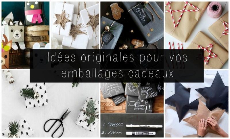 idées pour emballer vos cadeaux de Noël