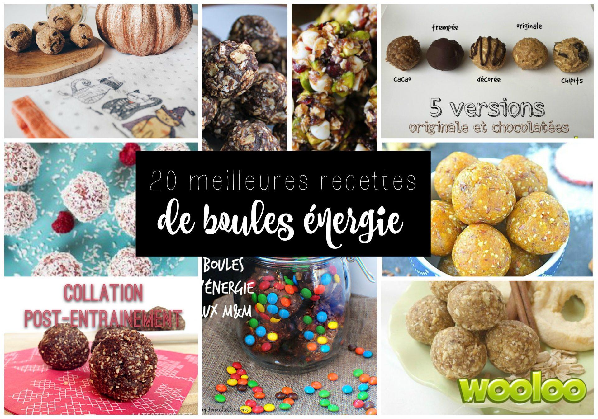 20 meilleures recettes de boules d energie