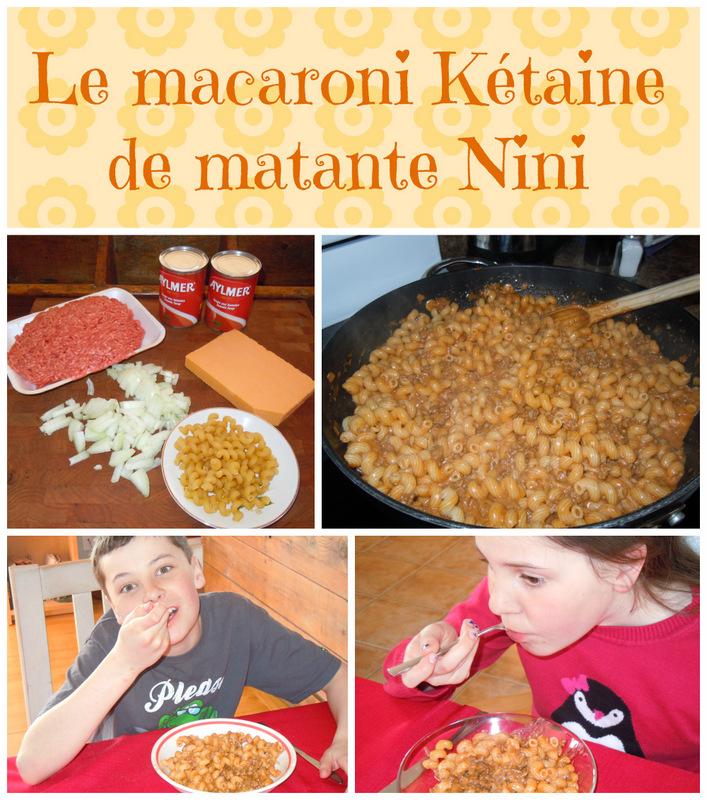 macaroni kétaine de matante nini wooloo
