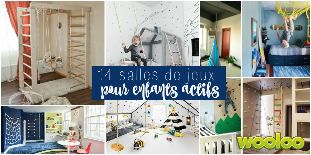 14 salles de jeux de fou pour enfants actifs