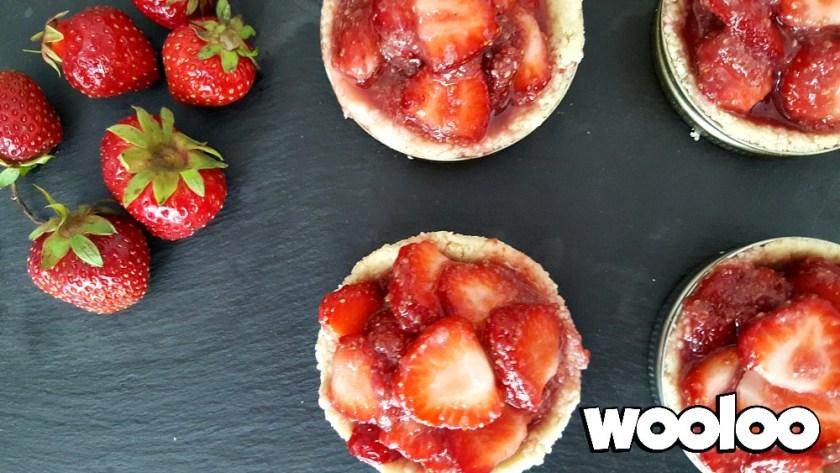 Tartelette aux fraises wooloo